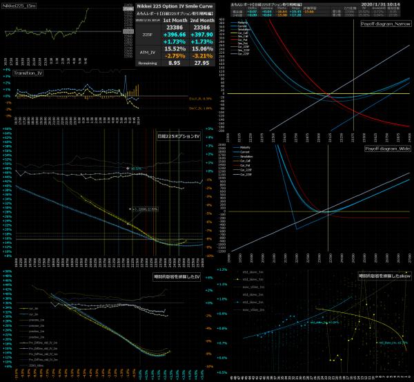 ■L114-h06-02日経225オプションIVスマイルカーブ/損益図ペイオフダイアグラム