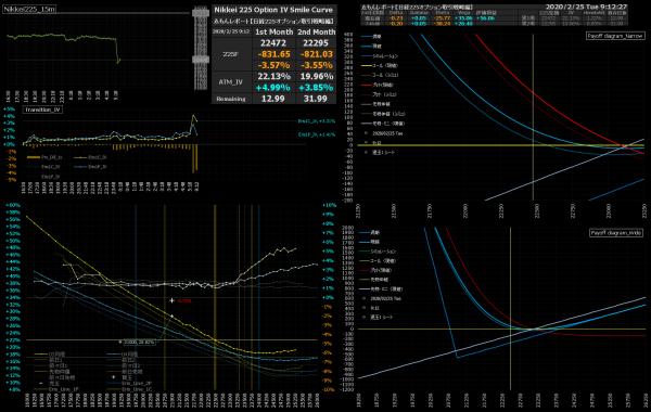 ■L129-h02-02日経225オプションIVスマイルカーブ/損益図ペイオフダイアグラム
