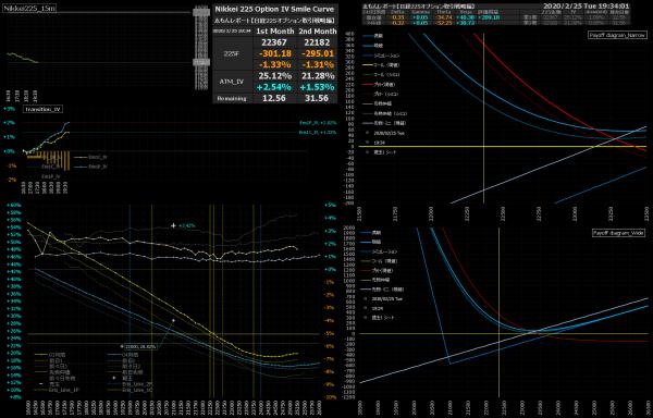 ■L129-h04-02日経225オプションIVスマイルカーブ/損益図ペイオフダイアグラム